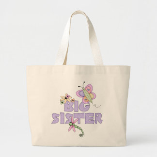 Cute Bugs Big Sister Canvas Bag