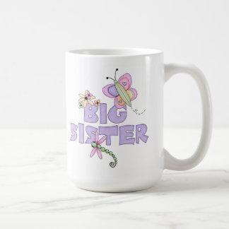 Cute Bugs Big Sister Classic White Coffee Mug