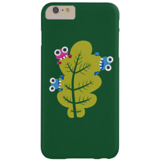 Cute Bugs Eat Green Leaf Pattern Barely There iPhone 6 Plus Case