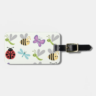 Cute Bugs Set Tag For Luggage