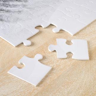 Cute Bull Terrier dog art Jigsaw Puzzle