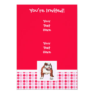 Cute Bulldog Card