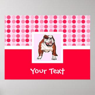Cute Bulldog Posters