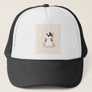 Cute Bulldog puppy cartoon Trucker Hat
