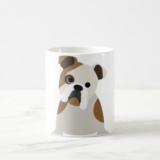 Cute Bulldog Puppy Coffee Mug