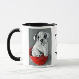 Cute Bulldog Puppy Mug