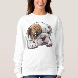 Cute Bulldog Puppy Sweatshirt