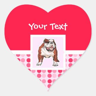 Cute Bulldog Sticker