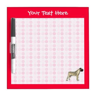 Cute Bullmastiff Dry-Erase Board