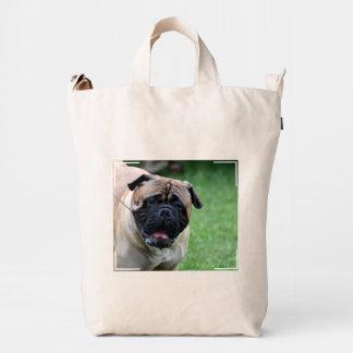 Cute Bullmastiff Duck Bag