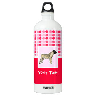 Cute Bullmastiff Water Bottle