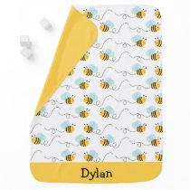 Cute Bumble Bee Baby Blanket