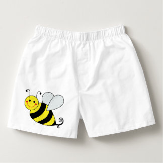 Cute Bumble Bee Boxers