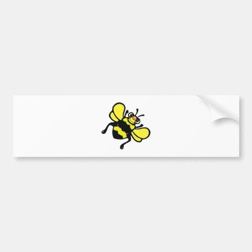 cute bumble bee bumper sticker