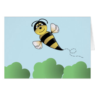 Cute Bumble Bee Card
