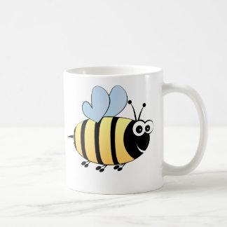 Cute bumble bee cartoon kids coffee mug