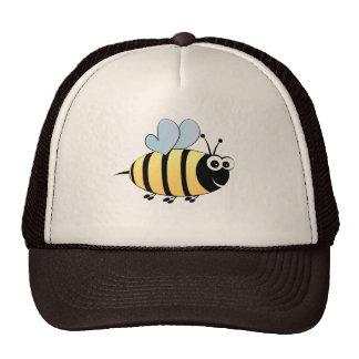 Cute bumble bee cartoon trucker hat