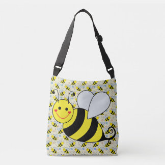 Cute Bumble Bee Crossbody Bag