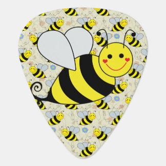 Cute Bumble Bee Guitar Pick