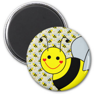 Cute Bumble Bee Magnet