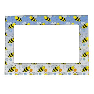 Cute Bumble Bee Magnetic Frame