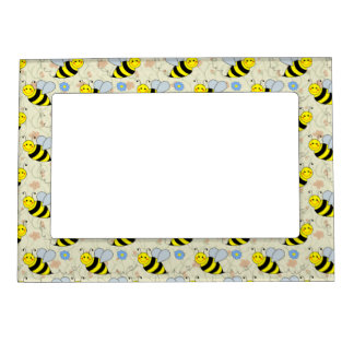 Cute Bumble Bee Magnetic Photo Frame