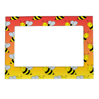 Cute Bumble Bee Magnetic Picture Frame