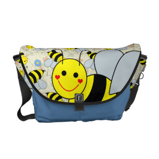 Cute Bumble Bee Messenger Bag