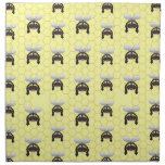 Cute Bumble Bee Pattern Cloth Napkins