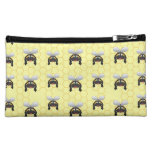 Cute Bumble Bee Pattern Cosmetic Bags