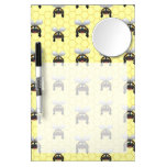 Cute Bumble Bee Pattern Dry-Erase Boards