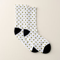 Cute Bumble Bee Pattern Socks
