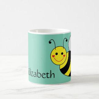 Cute Bumble Bee Personalized Coffee Mug
