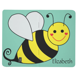 Cute Bumble Bee Personalized Journal