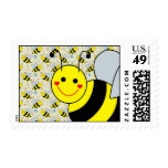Cute Bumble Bee Postage