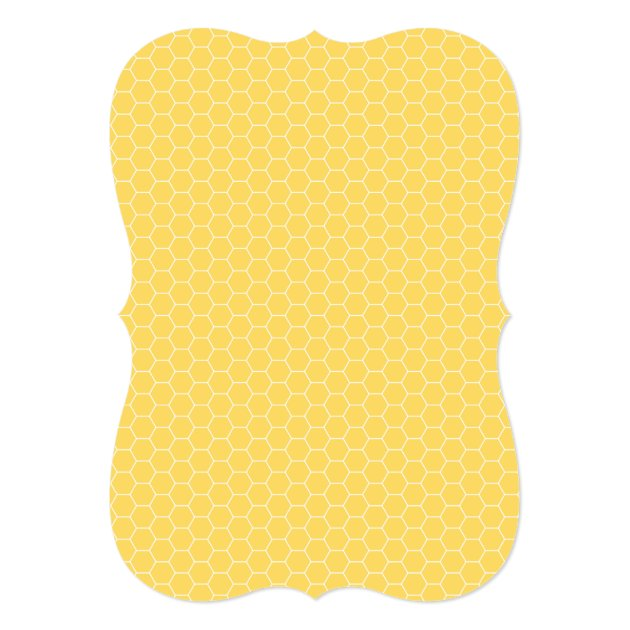 Cute Bumble Bee Themed Baby Shower Invitation (back side)