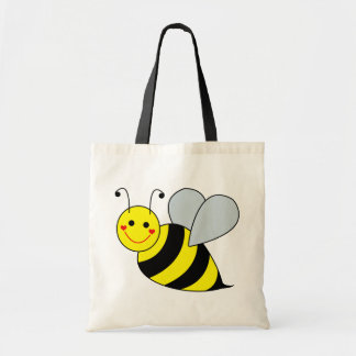 Cute Bumble Bee Tote Bag