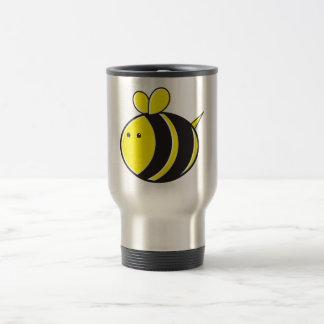 Cute bumble bee travel mug
