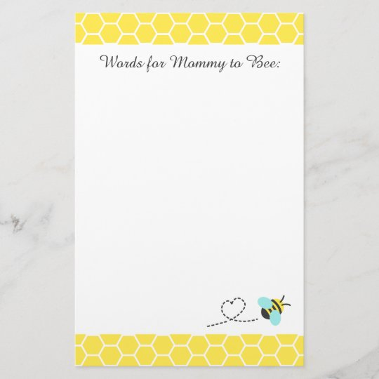 cute bumble bee words for mommy to be zazzle com