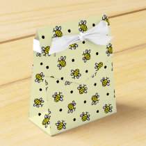 Cute Bumble Bees Favor Boxes