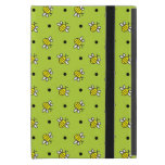 Cute Bumble Bees on Lime Green iPad Mini Powiscase Cases For iPad Mini