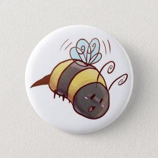 Cute Bumblebee Button