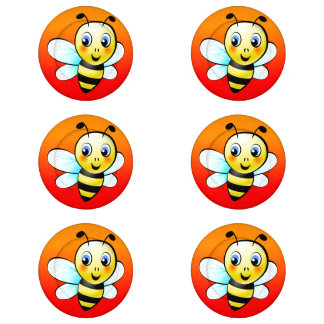 Cute Bumblebee Button Covers