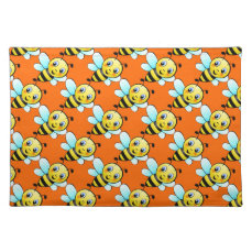 Cute Bumblebee Cloth Placemat