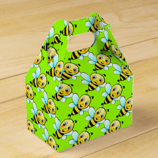 Cute Bumblebee Favor Box