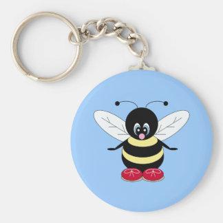 Cute Bumblebee Keychain