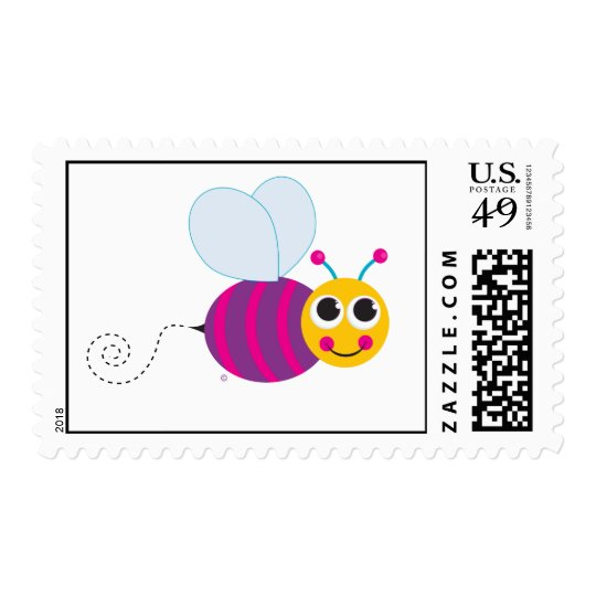 Cute Bumblebee Stamp