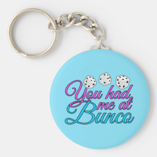 Cute Bunco Game Keychain