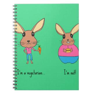 Cute bunnies. notebook