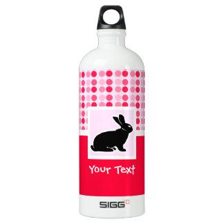 Cute Bunny Aluminum Water Bottle